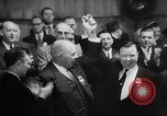 Image of President George Meany New York United States USA, 1955, second 26 stock footage video 65675052621