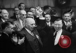 Image of President George Meany New York United States USA, 1955, second 28 stock footage video 65675052621