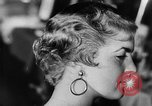 Image of hairdressers Lisbon Portugal, 1954, second 25 stock footage video 65675052627