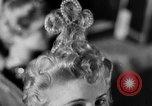 Image of hairdressers Lisbon Portugal, 1954, second 51 stock footage video 65675052627