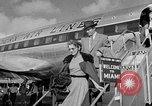 Image of film star Jimmy Stewart Miami Florida USA, 1954, second 15 stock footage video 65675052628