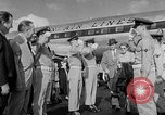 Image of film star Jimmy Stewart Miami Florida USA, 1954, second 19 stock footage video 65675052628