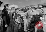 Image of film star Jimmy Stewart Miami Florida USA, 1954, second 21 stock footage video 65675052628