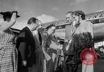 Image of film star Jimmy Stewart Miami Florida USA, 1954, second 22 stock footage video 65675052628