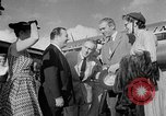Image of film star Jimmy Stewart Miami Florida USA, 1954, second 23 stock footage video 65675052628
