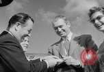 Image of film star Jimmy Stewart Miami Florida USA, 1954, second 25 stock footage video 65675052628