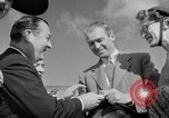 Image of film star Jimmy Stewart Miami Florida USA, 1954, second 26 stock footage video 65675052628