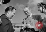 Image of film star Jimmy Stewart Miami Florida USA, 1954, second 27 stock footage video 65675052628