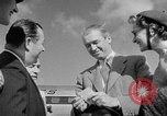 Image of film star Jimmy Stewart Miami Florida USA, 1954, second 28 stock footage video 65675052628