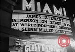 Image of film star Jimmy Stewart Miami Florida USA, 1954, second 32 stock footage video 65675052628