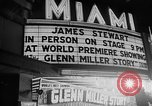 Image of film star Jimmy Stewart Miami Florida USA, 1954, second 33 stock footage video 65675052628