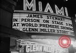 Image of film star Jimmy Stewart Miami Florida USA, 1954, second 34 stock footage video 65675052628