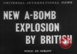 Image of third atomic explosion by Britain Australia, 1954, second 1 stock footage video 65675052629