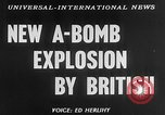Image of third atomic explosion by Britain Australia, 1954, second 3 stock footage video 65675052629