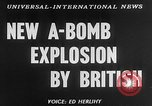 Image of third atomic explosion by Britain Australia, 1954, second 4 stock footage video 65675052629