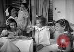 Image of Myrna Loy with polio victims Washington DC USA, 1944, second 35 stock footage video 65675052630