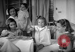 Image of Myrna Loy with polio victims Washington DC USA, 1944, second 36 stock footage video 65675052630
