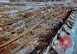 Image of collapsed roof members Japan, 1946, second 7 stock footage video 65675052632