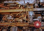 Image of collapsed roof members Japan, 1946, second 49 stock footage video 65675052632