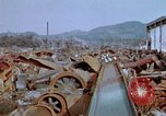 Image of collapsed roof members Japan, 1946, second 59 stock footage video 65675052632