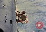 Image of US submarine rescues Japanese survivors at sea Pacific Ocean, 1945, second 11 stock footage video 65675052639