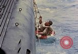 Image of US submarine rescues Japanese survivors at sea Pacific Ocean, 1945, second 15 stock footage video 65675052639