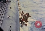Image of US submarine rescues Japanese survivors at sea Pacific Ocean, 1945, second 17 stock footage video 65675052639