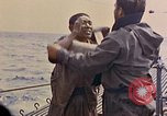 Image of US submarine rescues Japanese survivors at sea Pacific Ocean, 1945, second 24 stock footage video 65675052639