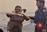 Image of US submarine rescues Japanese survivors at sea Pacific Ocean, 1945, second 29 stock footage video 65675052639