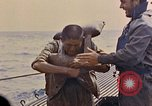 Image of US submarine rescues Japanese survivors at sea Pacific Ocean, 1945, second 30 stock footage video 65675052639