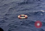 Image of US submarine rescues Japanese survivors at sea Pacific Ocean, 1945, second 35 stock footage video 65675052639