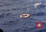Image of US submarine rescues Japanese survivors at sea Pacific Ocean, 1945, second 38 stock footage video 65675052639