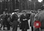 Image of Clement R Attlee Berlin Germany Gatow Airport, 1945, second 31 stock footage video 65675052647