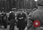 Image of Clement R Attlee Berlin Germany Gatow Airport, 1945, second 32 stock footage video 65675052647