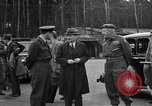 Image of Clement R Attlee Berlin Germany Gatow Airport, 1945, second 33 stock footage video 65675052647