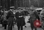 Image of Clement R Attlee Berlin Germany Gatow Airport, 1945, second 34 stock footage video 65675052647