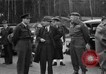 Image of Clement R Attlee Berlin Germany Gatow Airport, 1945, second 36 stock footage video 65675052647