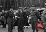 Image of Clement R Attlee Berlin Germany Gatow Airport, 1945, second 37 stock footage video 65675052647