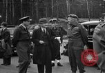 Image of Clement R Attlee Berlin Germany Gatow Airport, 1945, second 38 stock footage video 65675052647