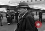 Image of Clement R Attlee Berlin Germany Gatow Airport, 1945, second 40 stock footage video 65675052647