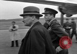 Image of Clement R Attlee Berlin Germany Gatow Airport, 1945, second 41 stock footage video 65675052647