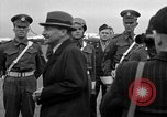 Image of Clement R Attlee Berlin Germany Gatow Airport, 1945, second 42 stock footage video 65675052647