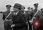 Image of Clement R Attlee Berlin Germany Gatow Airport, 1945, second 43 stock footage video 65675052647