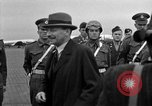 Image of Clement R Attlee Berlin Germany Gatow Airport, 1945, second 44 stock footage video 65675052647