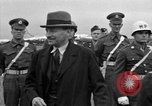 Image of Clement R Attlee Berlin Germany Gatow Airport, 1945, second 45 stock footage video 65675052647