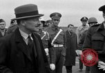 Image of Clement R Attlee Berlin Germany Gatow Airport, 1945, second 47 stock footage video 65675052647