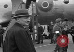Image of Clement R Attlee Berlin Germany Gatow Airport, 1945, second 48 stock footage video 65675052647