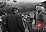 Image of Clement R Attlee Berlin Germany Gatow Airport, 1945, second 50 stock footage video 65675052647