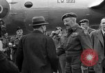 Image of Clement R Attlee Berlin Germany Gatow Airport, 1945, second 51 stock footage video 65675052647