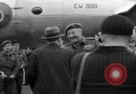 Image of Clement R Attlee Berlin Germany Gatow Airport, 1945, second 53 stock footage video 65675052647
